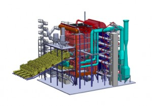 DP CleanTech high-pressure boiler
