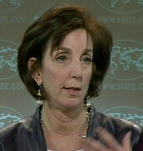 Heading the U.S. delegation in Havana: Roberta Jacobson