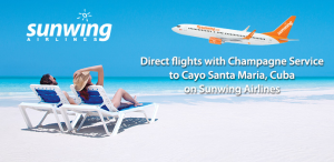 Sunwing, Canada's No. 1 leisure airline, is among the leading foreign carriers in Cuba