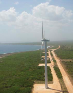 Wind park at Gibara