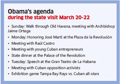 Obama's agenda box