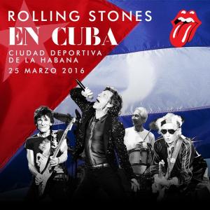Stones concert poster
