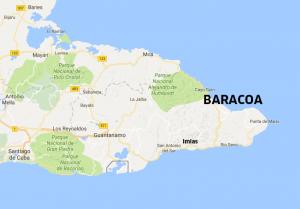 Baracoa map