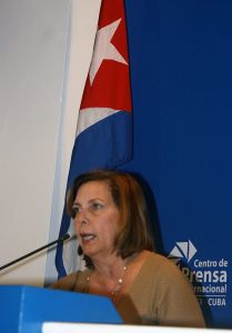"Vidal: ""not going back past what has been achieved today"". Photo: José Raúl Concepción/Cubadebate"