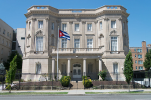 Only essential staff left: Cuban embassy in Washington