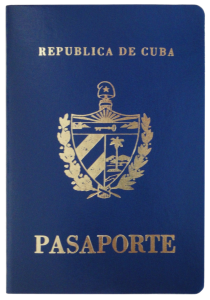 Issuing Cuban passports ...
