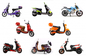 Top Rank Gear line of electric scooters