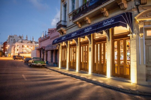 Closed: The ChaChaCha restaurant in Old Havana, owned by a son of Colomé Ibarra.