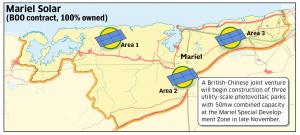 Mariel Solar map detail