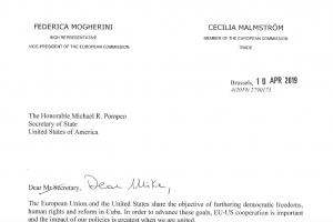EU letter