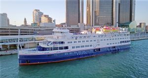 Reading the writing on the wall: In January, Miami-based Victory Cruises sold to a competitor which moved the Victory 1 from Cuba to the Great Lakes