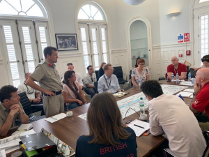 British and Cuban officials are closely coordinating Braemar logistics. Photo: UK in Cuba