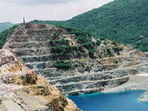 Matahambre open pit mine at El Cobre